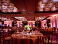 ballroom with uplighting and pinspots