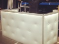 Tufted booth ready for events!