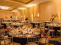 wedding reception room setup at marriott waterfront baltimore