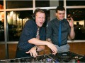 dj having fun at wedding