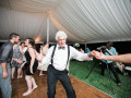 grandfather spinning wedding guest