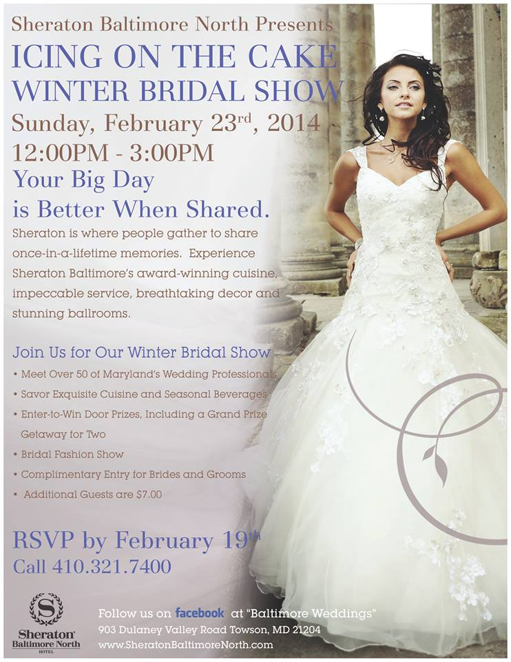 Sheraton Baltimore North Hotel Winter Wedding Show
