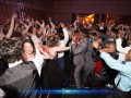 Students having a great time at the prom.