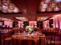 ballroom with uplighting and pinspots