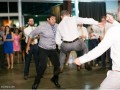 wedding guests doing double dutch